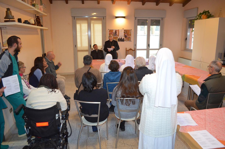 Mons lafranconi a casa della speranza la consapevolezza for Suggerimenti per la costruzione della propria casa