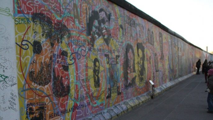 muro berlino erezione 1989 calendar